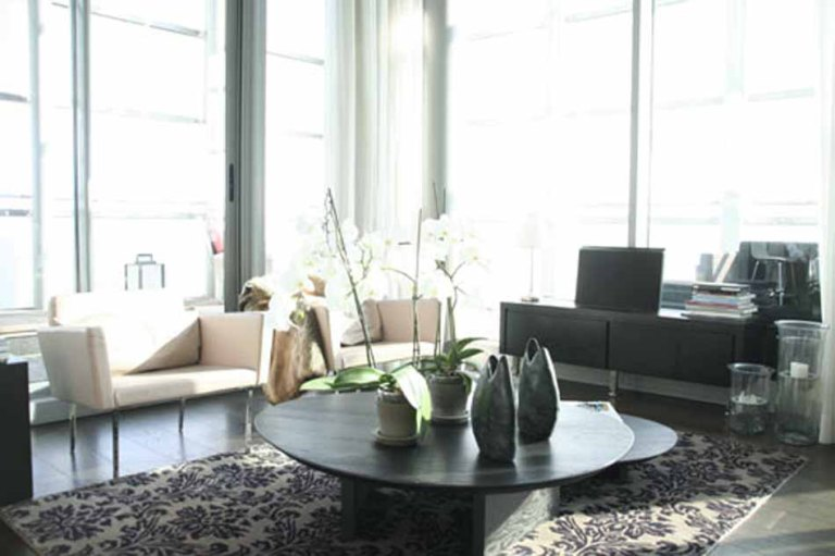 luxury-3-bedroom-duplex -penthouse-for-rent-in-diagonal-mar-livingroom