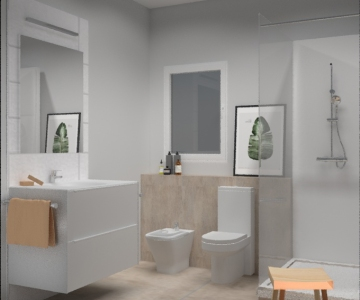 Render - Baño 2
